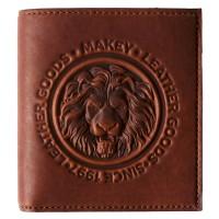 Porte-monnaie Royal mini cognac noir