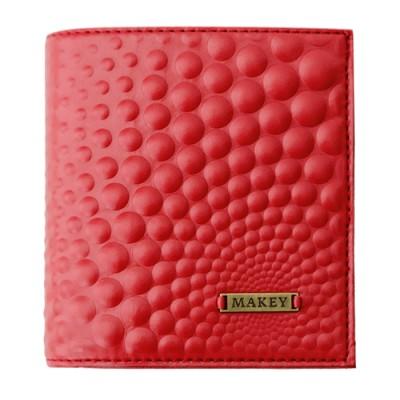 Porte-monnaie Bubbles mini rouge